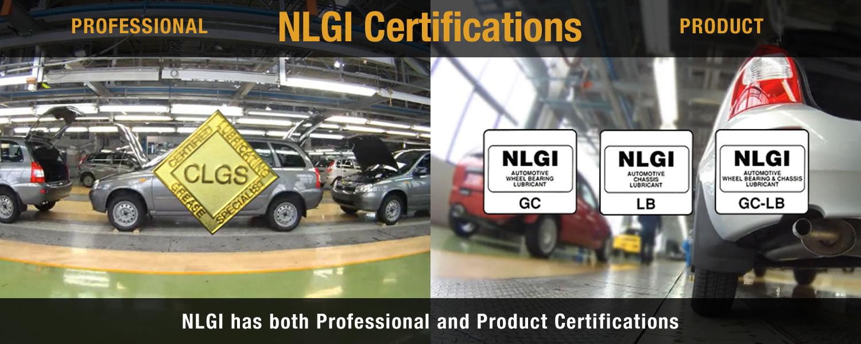 NLGI Certifications