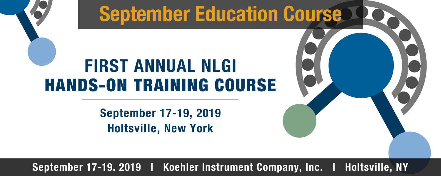 September Education Course