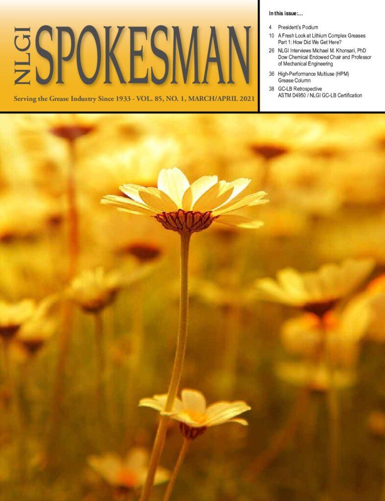 NLGI Spokesman current issue